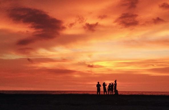 sunset in liwliwa
