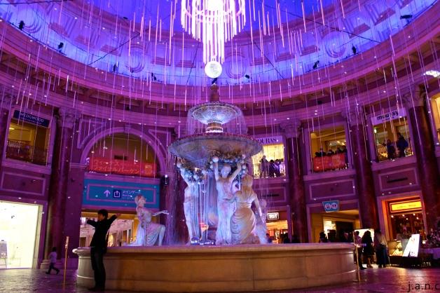 inside odaiba mall
