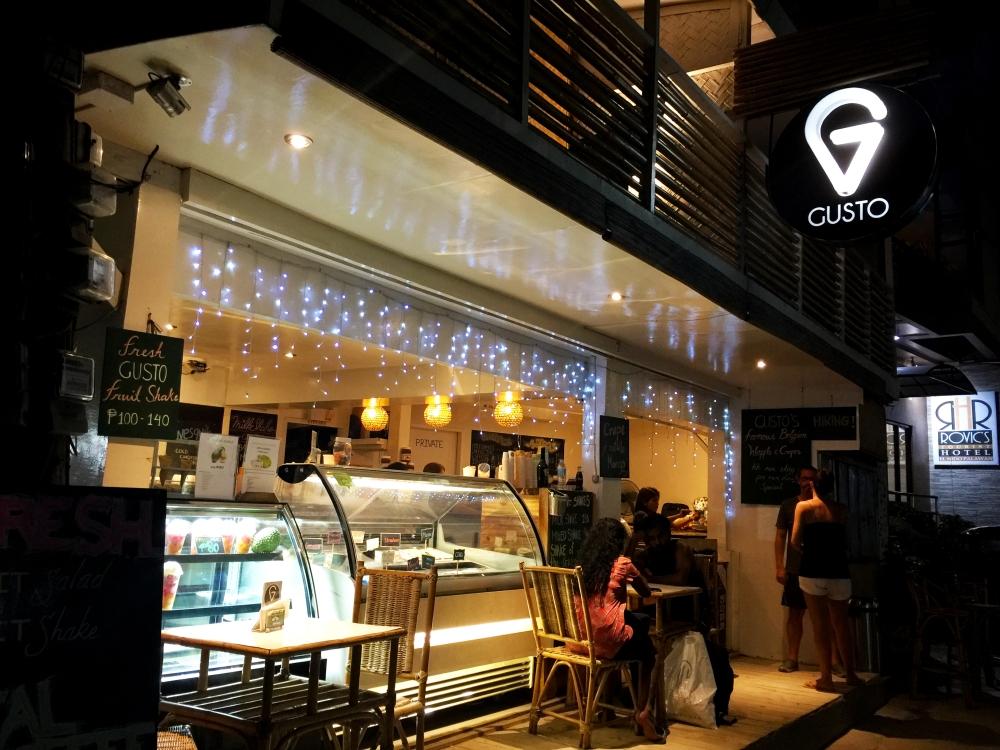 Gusto Gelato Shop El Nido Palawan Philippines TravelAnyway 2