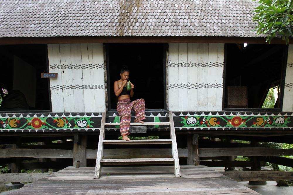 Canggu Jungleroom Bali AirBnB Big Karo Travelanyway