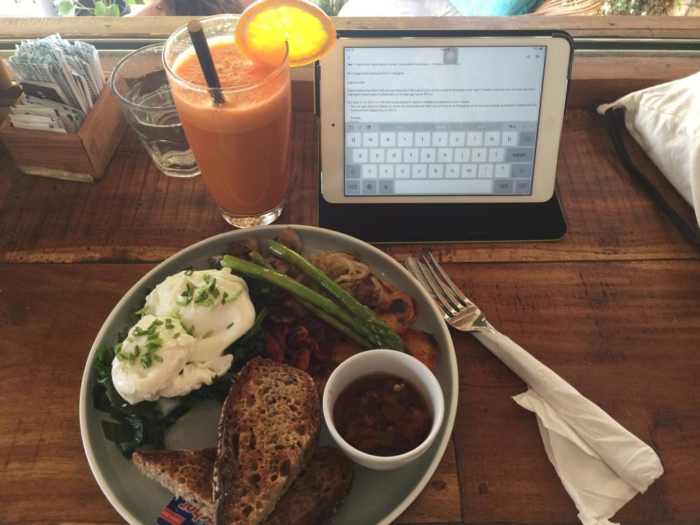 Canggu Shady Shack Organic Restaurant Bali Travelanyway