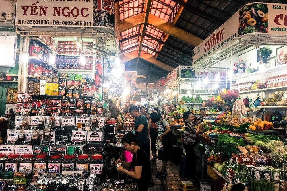 Benh Than Market Vietnam Ho Chi Minh Saigon Travelanyway