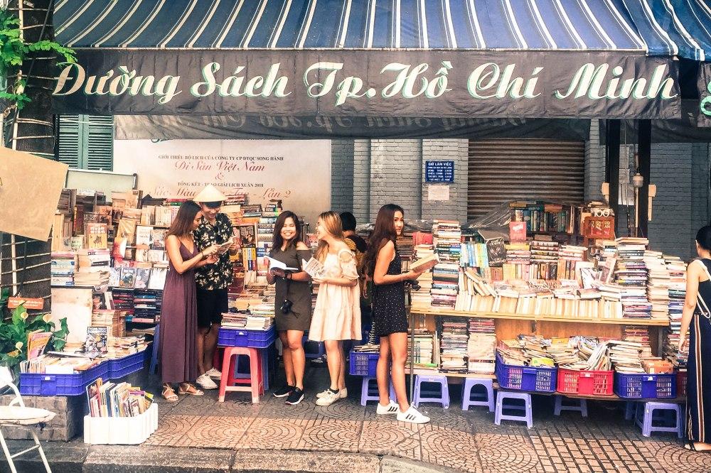 Bookstreet Nguyen Van Binh Vietnam Ho Chi Minh Saigon Travelanyway (2)