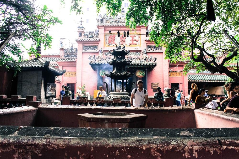 Jade Emperor Pagoda Ho Chi Minh Saigon Vietnam Travelanyway