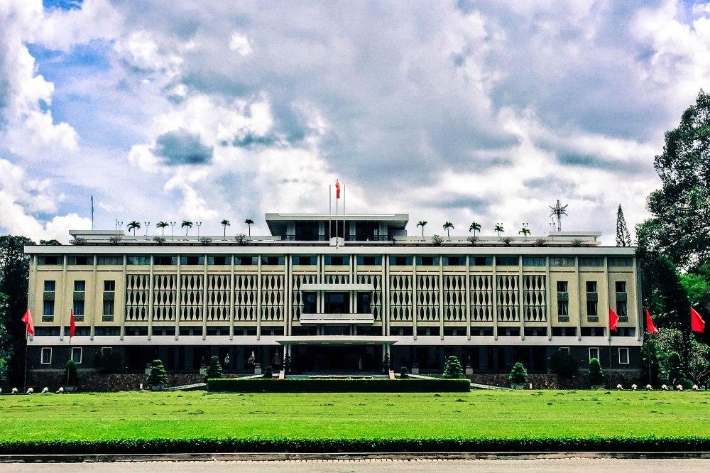 Reunification Palace Saigon Ho Chi Minh Vietnam Travelanyway