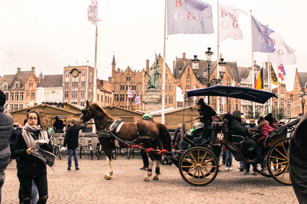 Brugges Belgium Winter Travelanyway