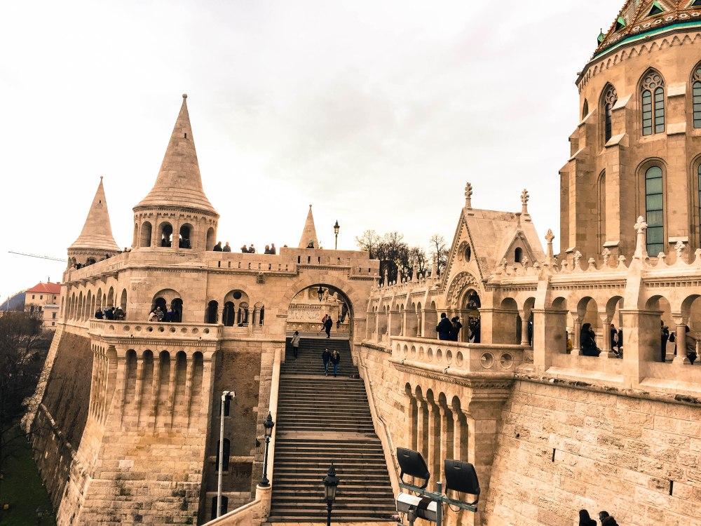 Budapest castle Hungary Travelanyway