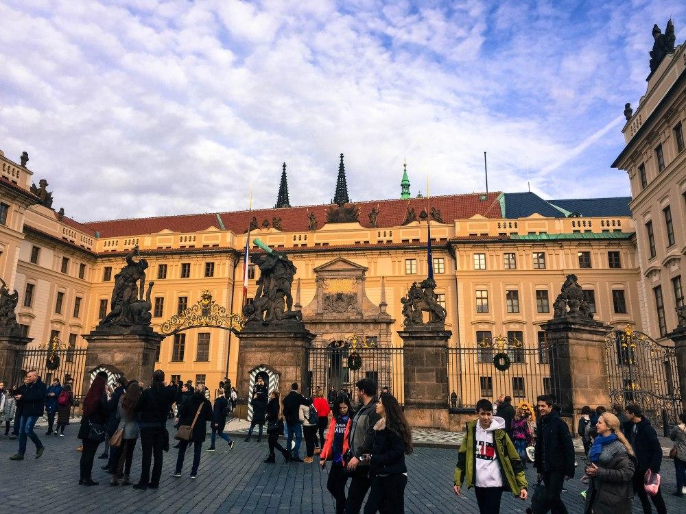 Prague Castle Prague Czech Republic Travelanyway