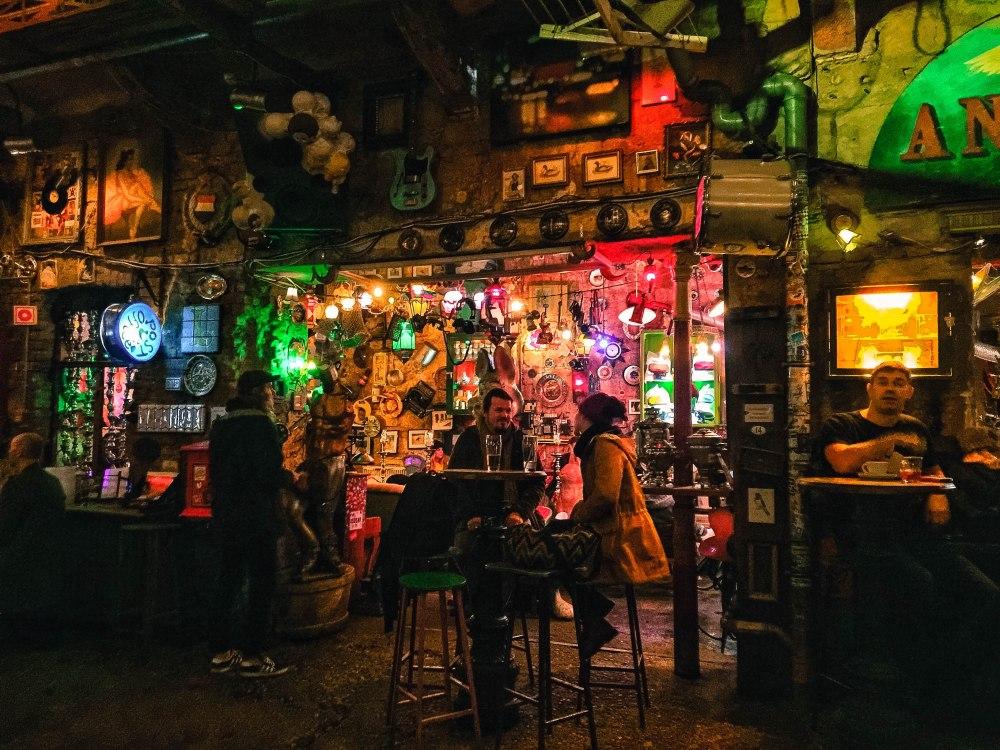 Szimpla Kert Budapest Ruin Pub Hungary Travelanyway