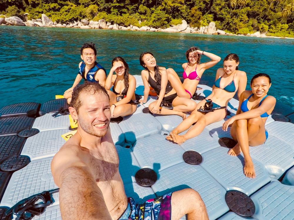 Shark Island Perenthian Island Malaysia Travelanyway