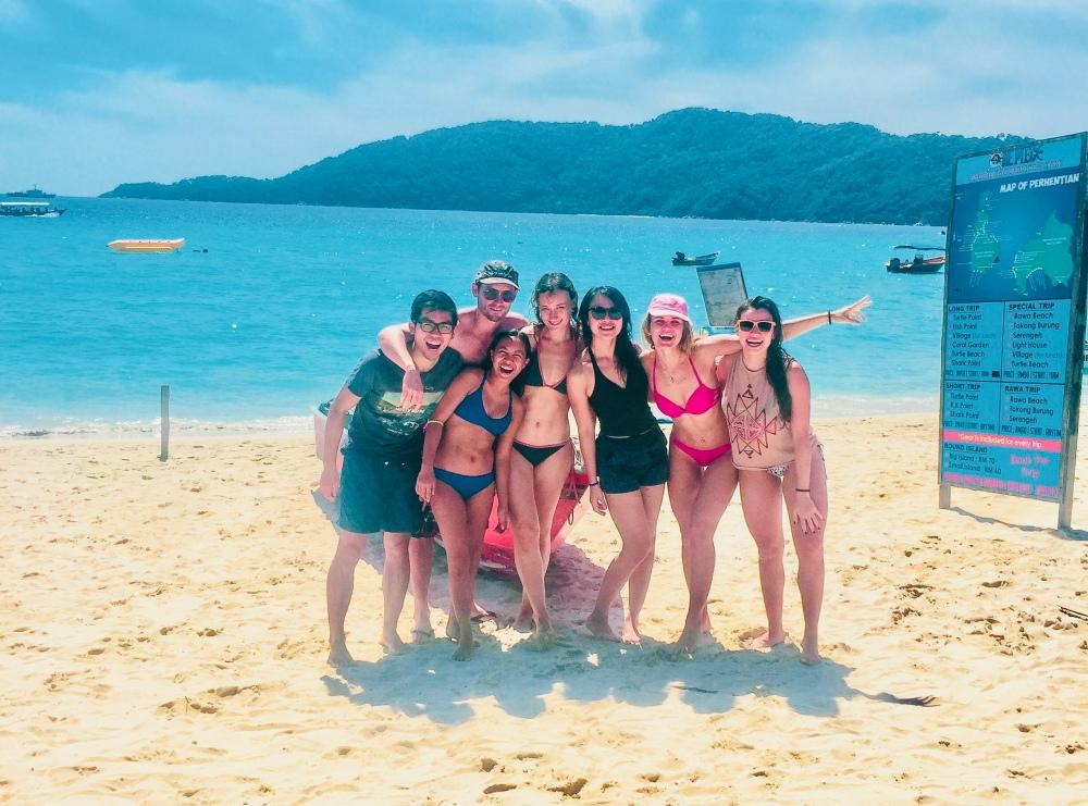 The Crew Perenthian Island Malaysia Travelanyway