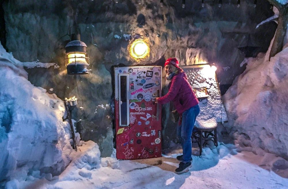 Bar Gyu Fridge Door Niseko Japan Travelanyway