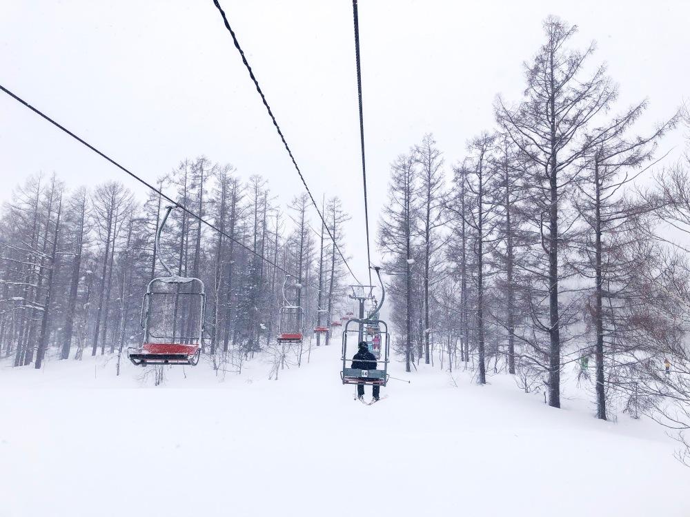 Chairlift Ski Lesson Niseko Japan Travelanyway