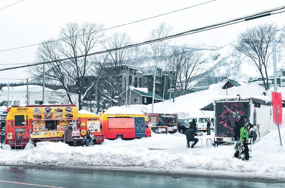 Food Truck Niseko Japan Travelanyway
