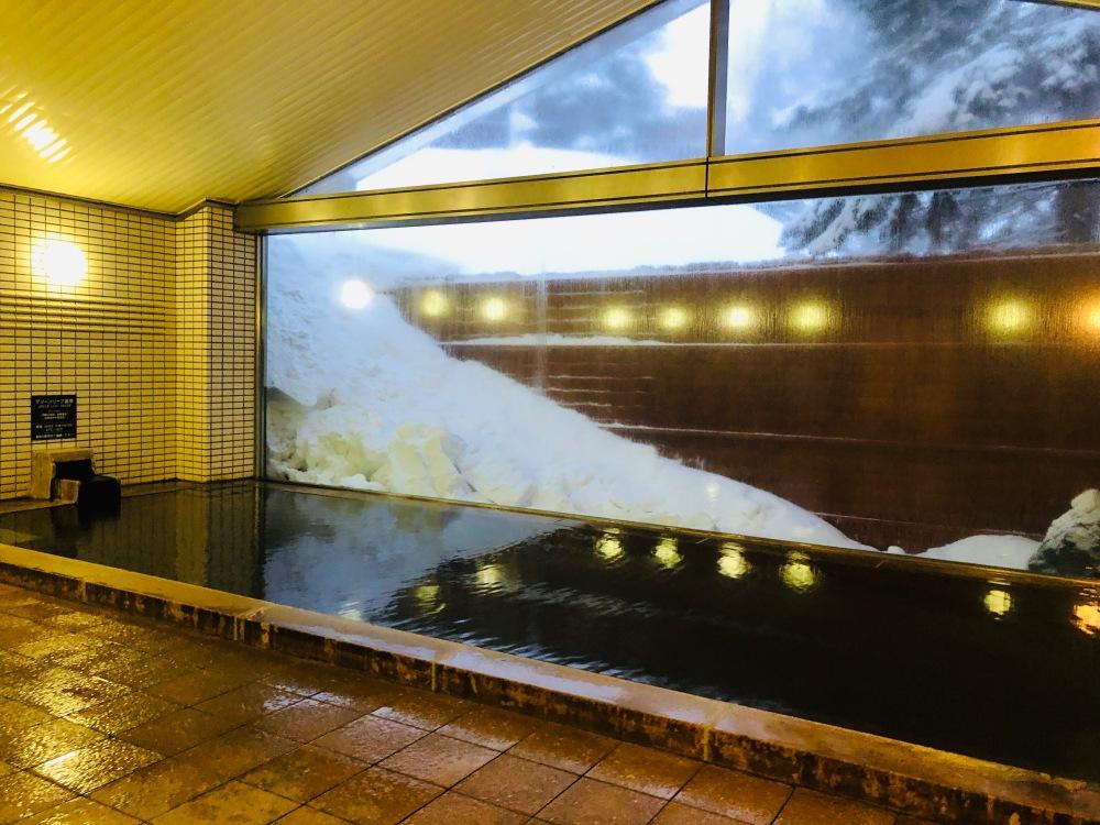 Indoor Onsen Green Leaf Hotel Niseko Japan Travelanyway