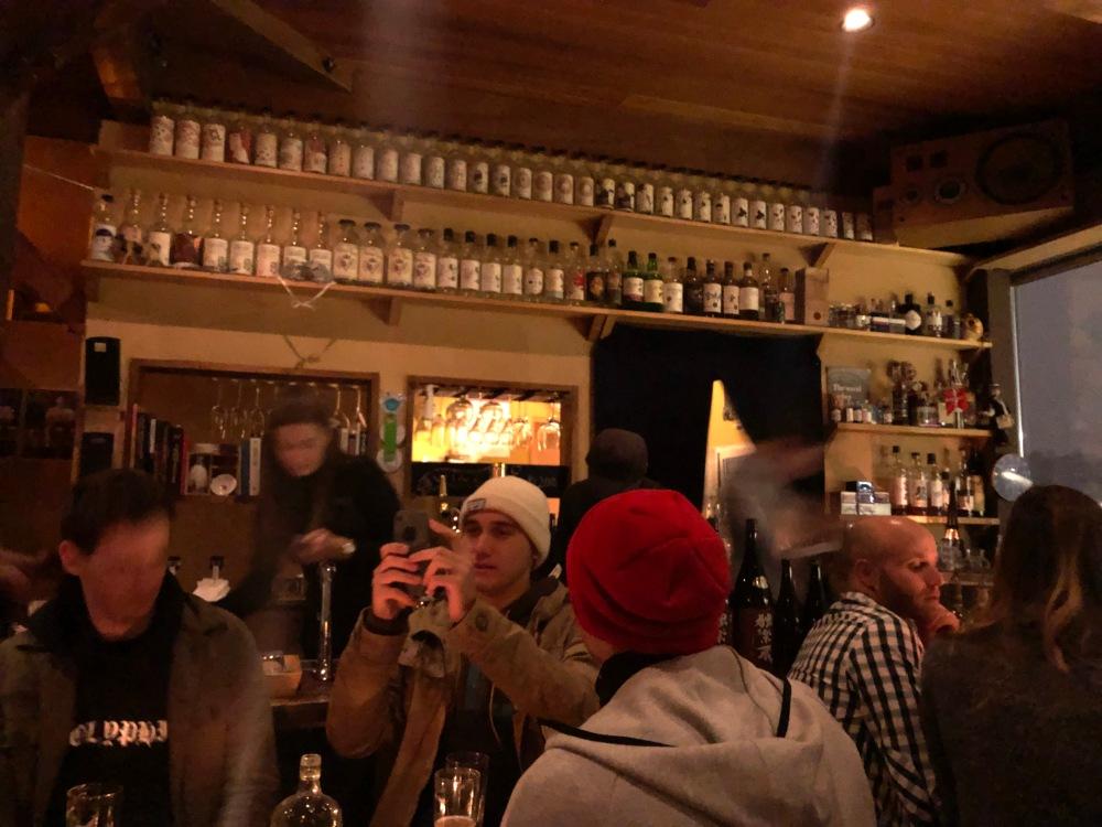 Inside Bar Gyu Fridge Door Niseko Japan Travelanyway