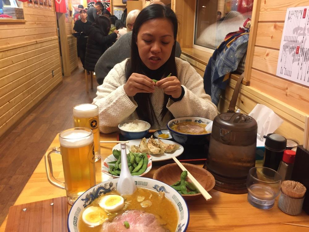 Tonzaken Ramen Dinner Niseko Japan Travelanyway